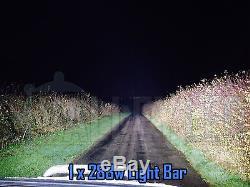127cm 300w Courbé Cree Led Barre Lumineuse Ensemble IP68 Feux de Position