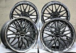 18 Roues Alliage CRUIZE 190 Gmp Pour Jaguar X Type S TYPE XF Xe XJ F Allure F T