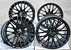 18 Roues Alliage Cruize 170 MB Noir Mat Concave Rayons 5X108 18 Pouces