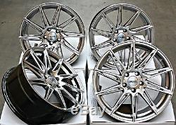 18 Roues Alliage Cruize Turbine pour Jaguar X TYPE S XF Xe XJ F Pace F Ty