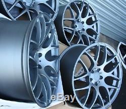 19 G Fox Ms007 Roues Alliage pour BMW X1 E84 X3 E83 F25 X4 F26 X5 E53 5x120