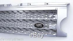 2004-09 Discovery 3 LR3 Argent Grille Chargé Style Sans Badge