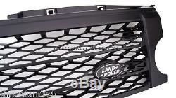 2004-09 Discovery 3 LR3 Noir Chargé Style Calandre sans Land Rover Badge