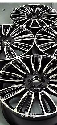 22 Pouces Jantes pour Land Rover Discovery Range Rover Sport 9.5J (4 Jantes)