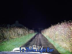 24v 30 180w Incurvé Cree LED Lumière Barre Combo IP68 Conduite Hgv Camion