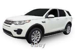 2 Marche-Pieds Latéraux MARCHE PIEDS ALUMINIUM Land Rover Discovery Sport 2015 +