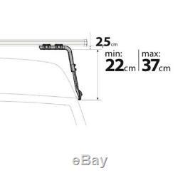 2x Barres de Toit pour Land Rover Discovery 5p, Année 01/8910/98 Nordrive