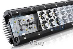 4D 52 300W CREE LED barre lumineuse Ensemble IP68 FEUX DE POSITION alliage