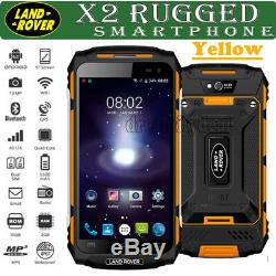 4G Téléphone Mobile Rugged Smartphone LAND X2 ROVER Android 6 Quad Core For EU