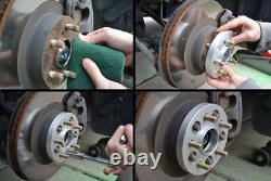 4X 15mm 5x120 14x1.5 Elargisseur de voie 72.56mm Pour Land Rover Discovery BMW 7