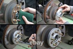4X 30mm 5x120 14x1.5 Elargisseur de voie 72.56mm Pour Land Rover Discovery BMW 7