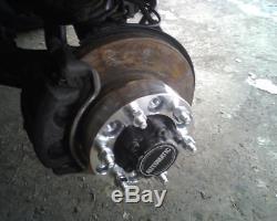 4pcs 30mm 5x120 14x1.5 72.56mm Elargisseur de voie pour Land Rover Discovery