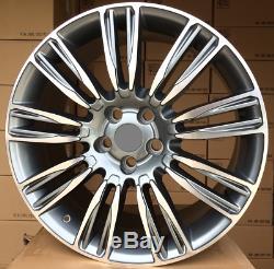 4x 21 Pouces Jantes pour Land Rover Discovery Range Sport en Alliage Et45