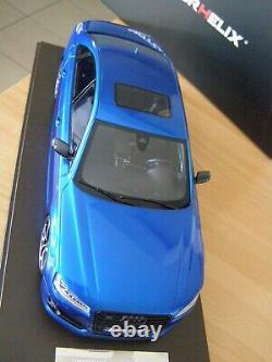AUDI S8 Motorhelix 1/18 no Norev Ottomobile Minichamps Solido Auto art Gt spirit
