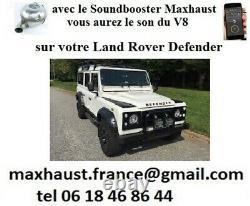 Active Sound Maxhaust Land Rover Velar Evoque Vogue Sport Discovery Freelander
