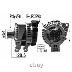 Alternateur Land Rover Range Rover III 4.2 291kw 396cv 05/200508/12 Eb1236q V10