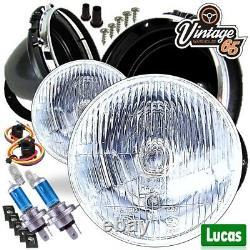 Auto Classique Original Lucas LHD 7 Emballé Halogène Conversion Phare Kit