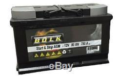 BOLK Batterie de démarrage 80ah / 700A Pour KIA SPORTAGE MINI BOL-G061015