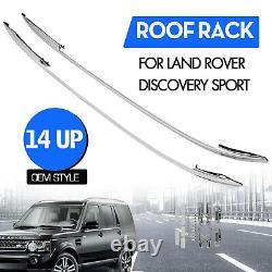 Barre de Toit Pour 2015 -19 Land Rover Discovery Sport Alliage D'Aluminium 2 PCS