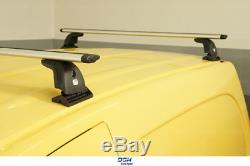 Barres de toit Land Rover Discovery III IV 04-16 avec points de fixation 130cm
