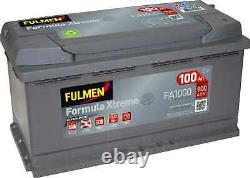 Batterie Fulmen Formula Xtreme 100Ah/900A (FA1000)