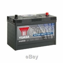Batterie YUASA Cargo 640SHD 12v 115AH 1000A