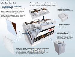 Bosch S5A11 Batterie de Voiture 80A/h-800A