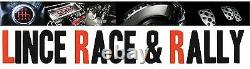 Classique Style Sport Course Racing Direction Roue 3 Rayon 13.7 Pouce PU Cuir