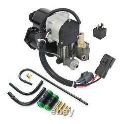 Compresseur d'air, kit relais et tuyauterie pour Range Rover Sport-LR023964