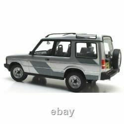 Cult Models 1989 Land Rover Discovery Mki Argent / Décoré Rhd 1/18 Échelle Neuf