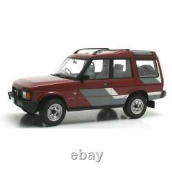 Cult Models 1989 Land Rover Discovery Mki Rouge Foncé / Décoré Rhd 1/18 Echelle