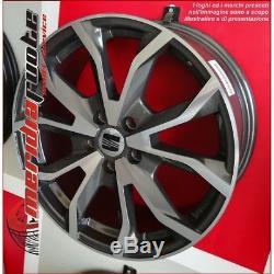 Esse1 Kit De Publicité 4 Jante En Alliage Ece 18 Et45 Volkswagen Golf 7