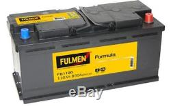 FULMEN Batterie de démarrage 110ah / 850A Pour PORSCHE CAYENNE AUDI A5 FB1100