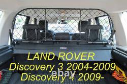 Filet Grille de séparation coffre pour chiens et bagage Land Rover Discovery 3-4