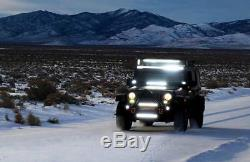 Incurvée 52'' 300W Barre Led Phare Barre Rampe Projecteur ATV Philip 12V 24V