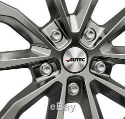 Jantes Autec UTECA 9.0x21 ET41 5x108 SIL pour Land Rover Discovery Evoque Velar