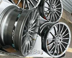 Jantes en Alliage X4 19 Gunmetal Torque pour BMW X1 E84 X3 E83 F25 X4 F26 X5