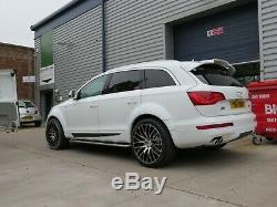 Jantes en Alliage X4 20 Noir P Altus pour Land Range Rover BMW X1 X3 4x X5 VW