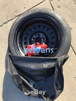 KIT roue de secours galette 17'' pour LAND ROVER DISCOVERY AVEC CRIC CLE ET SAC