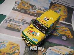 LAND ROVER DISCOVERY 1/43éme AUTO24/COMMAGNAC N°303 DAKAR 2003