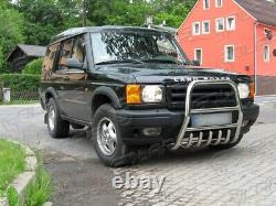 Land Rover Discovery 1999-2004 PARE BUFFLE PROTECTION AVANT EN INOX