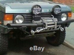Land Rover Discovery 1 Résistant Treuil Pare-Choc UK Fait = Re / Wb2