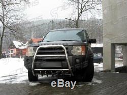 Land Rover Discovery 2004-2009 PARE BUFFLE PROTECTION AVANT EN INOX
