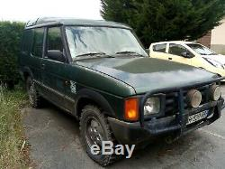 Land Rover Discovery 200TDI 1993 pour pièces ou export