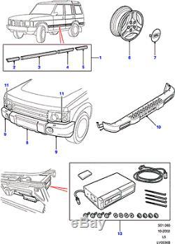 Land Rover Discovery 2 03-04 Embout Pare-Choc Droit Véritable Dpt000020lml