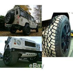 Land Rover Discovery 2 P38 30mm Aluminium Roue Entretoises de Roue & Boulons