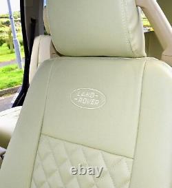 Land Rover Discovery 3 5 Sièges sur Mesure Diamant Matelassé Beige Seat