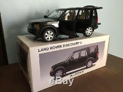 Land Rover Discovery 3 Autoart 1/18 Neuf En Boite Ref 74803