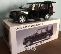 Land Rover Discovery 3 Green Autoart 1/18 Neuf En Boite