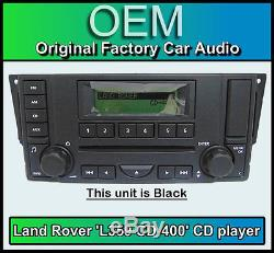 Land Rover Discovery 3 Lecteur CD Radio, L359 CD-400 Autoradio, 1 An de Garantie